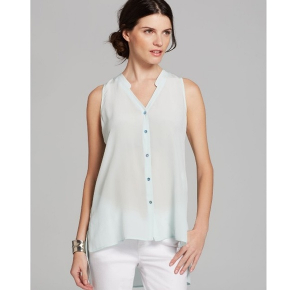 9716f495 Eileen Fisher Tops | Arora Silk High Low Tunic Top | Poshmark